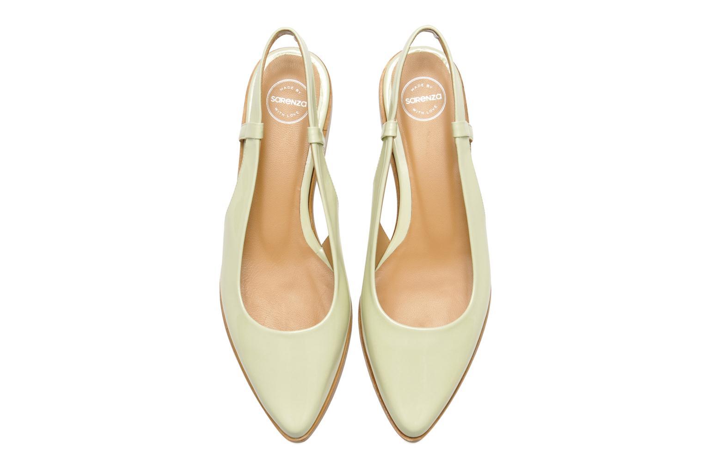 Ballerines Made by SARENZA Chamallow #3 Vert vue portées chaussures
