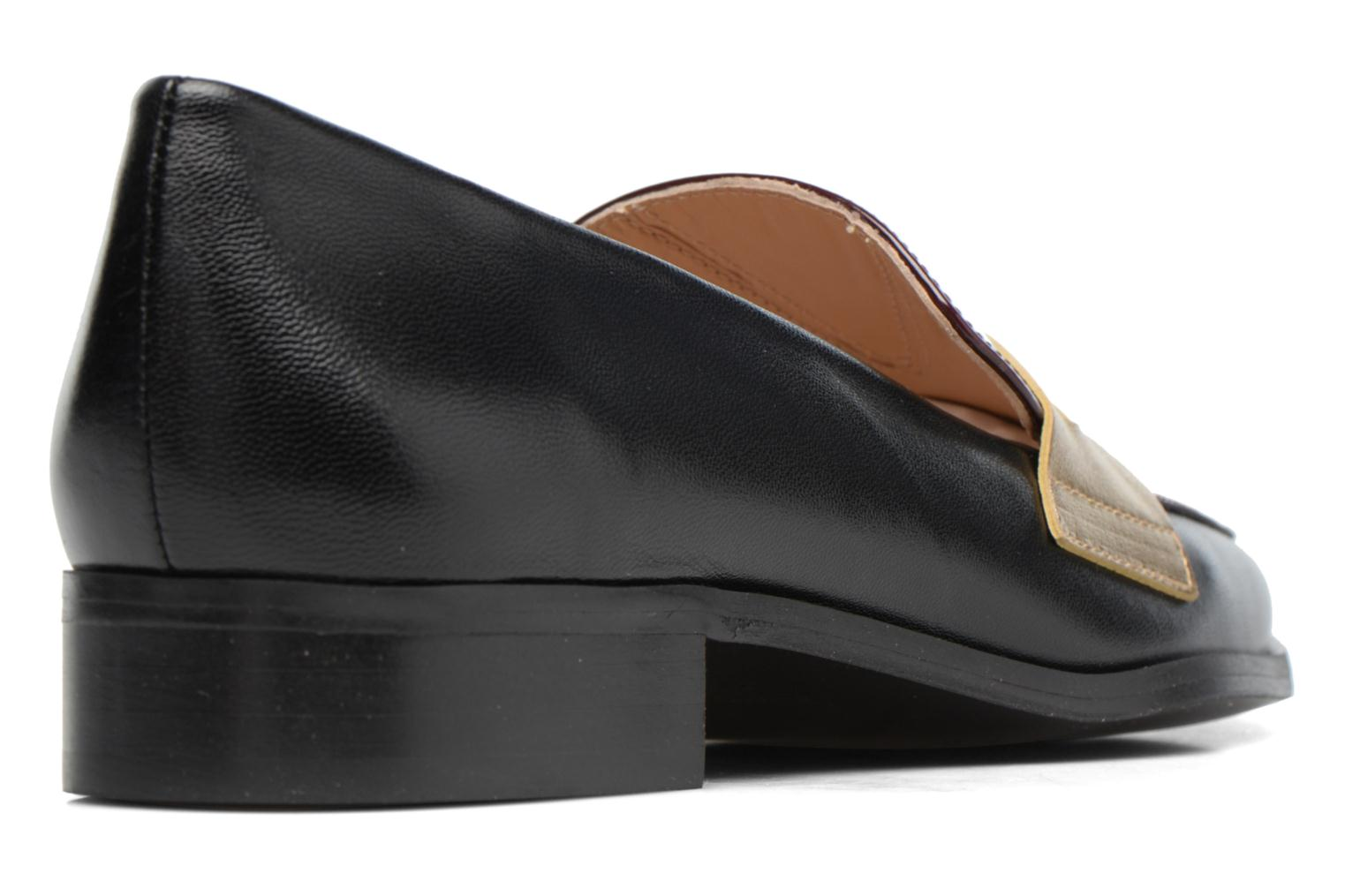Loafers Made by SARENZA 90's Girls Gang Mocassins #3 Black front view