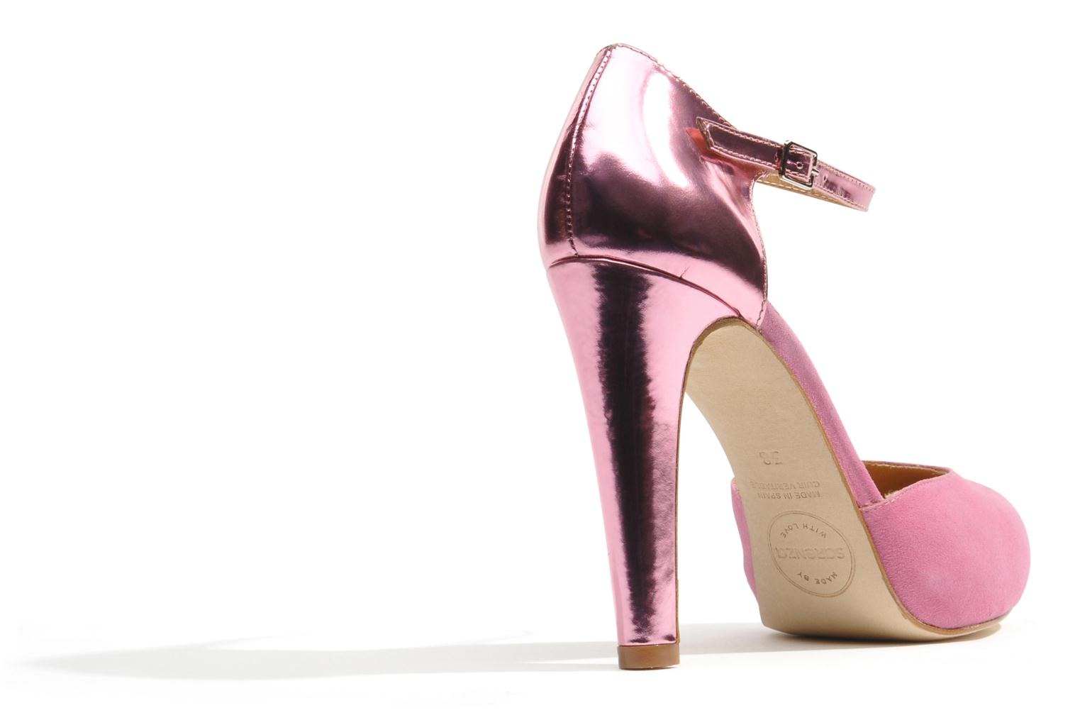 Pumps Made by SARENZA Loulou au Luco #8 Roze voorkant