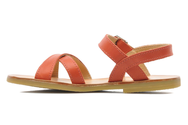 Sandalen Start Rite Nice 2 orange ansicht von vorne