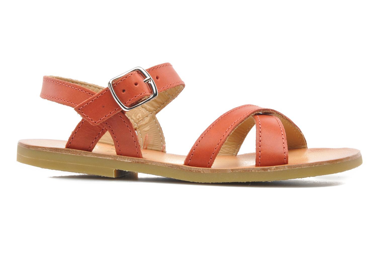 Sandalen Start Rite Nice 2 orange ansicht von hinten