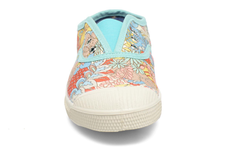 Sneakers Bensimon Tennis Elly Liberty E Multicolore modello indossato