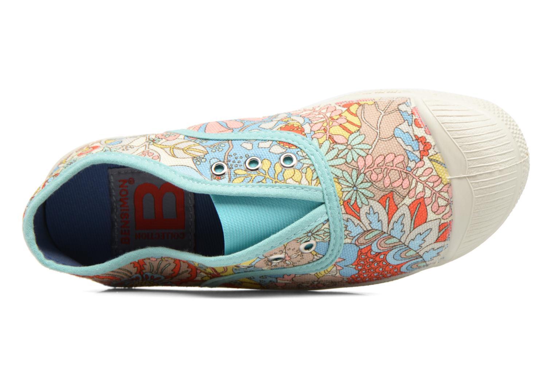 Sneakers Bensimon Tennis Elly Liberty E Multicolore immagine sinistra
