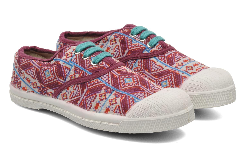 Sneakers Bensimon Tennis Indian Graphik E Multicolor 3/4'