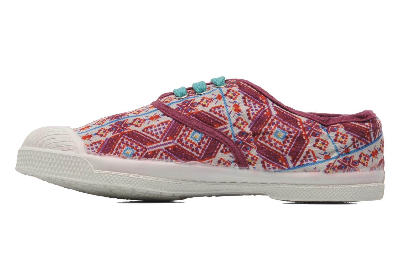 Sneakers Bensimon Tennis Indian Graphik E Multicolor voorkant