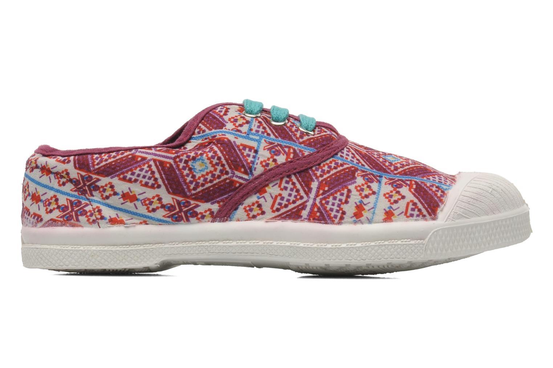 Sneakers Bensimon Tennis Indian Graphik E Multicolor achterkant