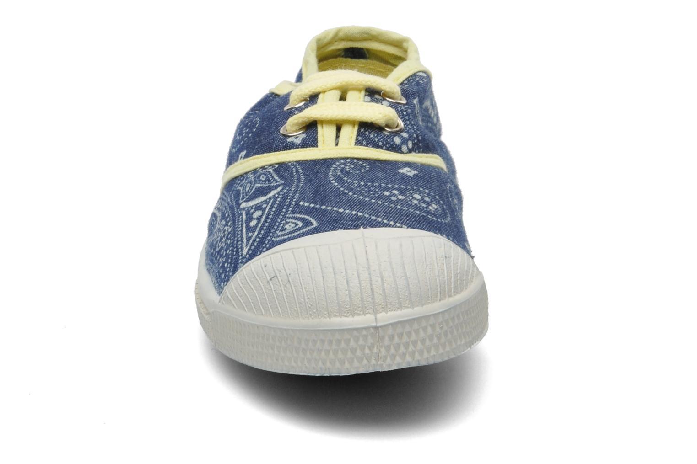 Baskets Bensimon Tennis Bandanas E Bleu vue portées chaussures