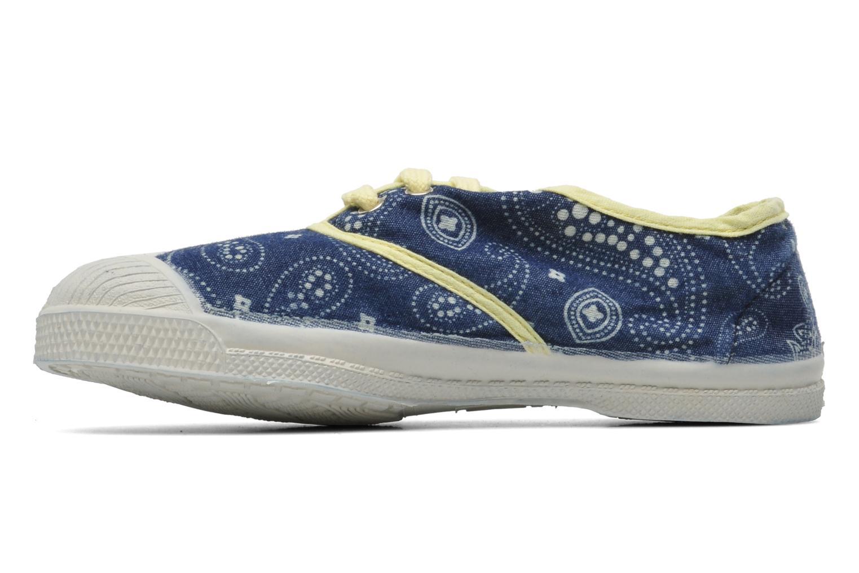 Baskets Bensimon Tennis Bandanas E Bleu vue face