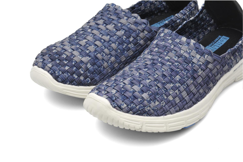 Sneakers Mustang shoes Lidor Blauw 3/4'