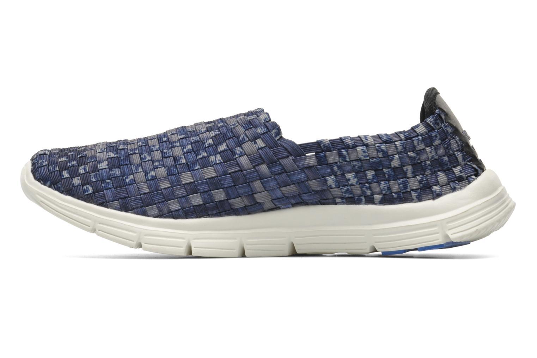 Sneakers Mustang shoes Lidor Blauw voorkant