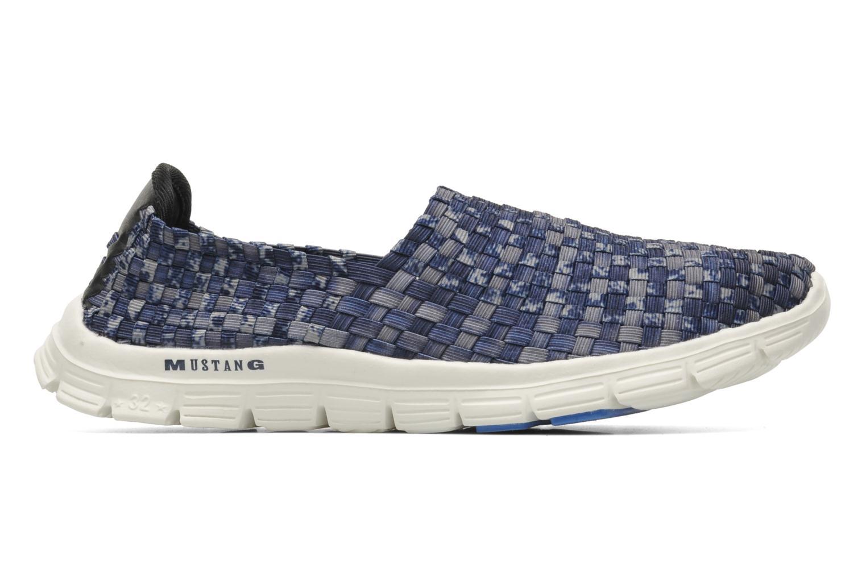 Sneakers Mustang shoes Lidor Blauw achterkant