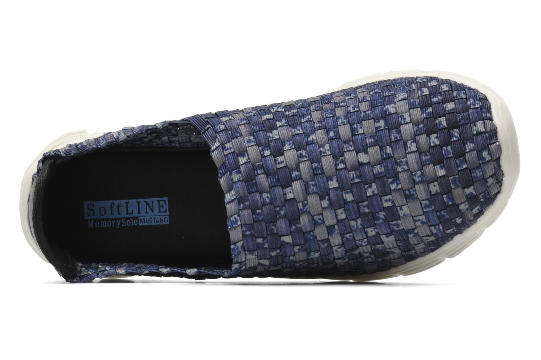 Sneakers Mustang shoes Lidor Blauw links