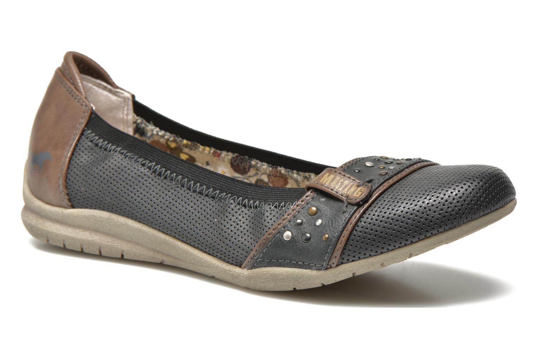 Chez 270253 Cinol Mustang Shoes Sarenza gris Ballerines ZBxOvwq