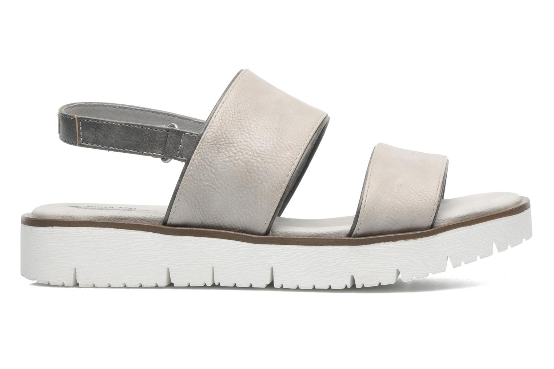 Sandalen Mustang shoes Morod grau ansicht von hinten