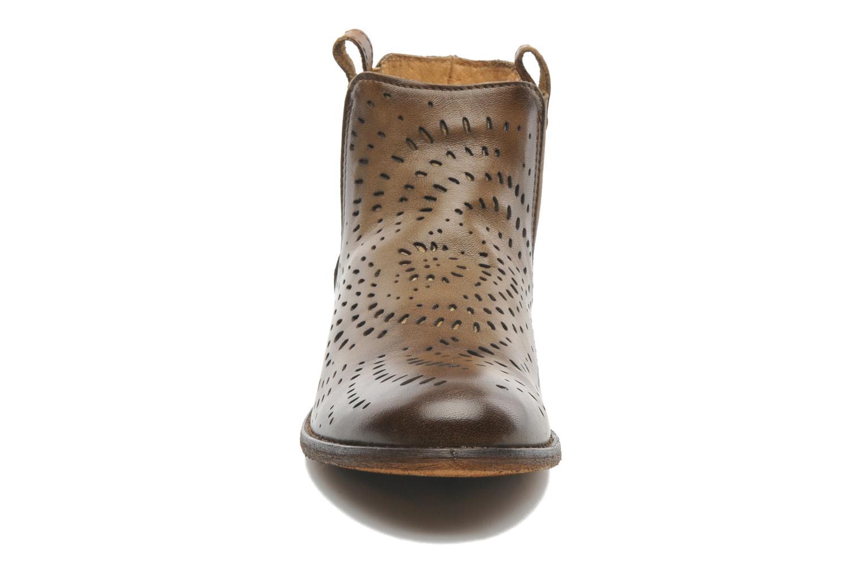 Bottines et boots Mustang shoes Wurux Marron vue portées chaussures