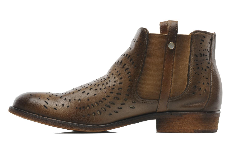 Bottines et boots Mustang shoes Wurux Marron vue face