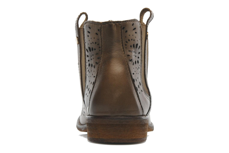 Bottines et boots Mustang shoes Wurux Marron vue droite