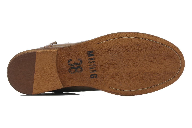 Bottines et boots Mustang shoes Wurux Marron vue haut