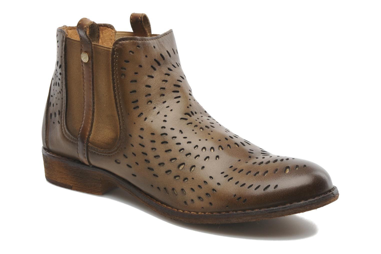 Bottines et boots Mustang shoes Wurux Marron vue détail/paire