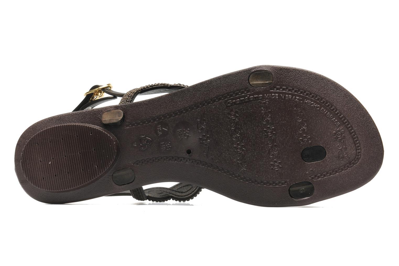 Sandales et nu-pieds Grendha Tribale Sandal Marron vue haut