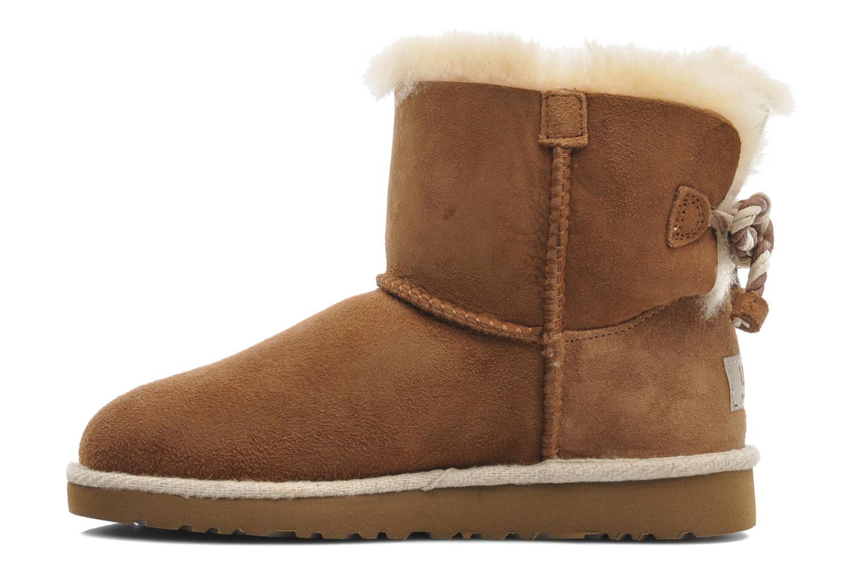 Bottines et boots UGG K SELENE Marron vue face
