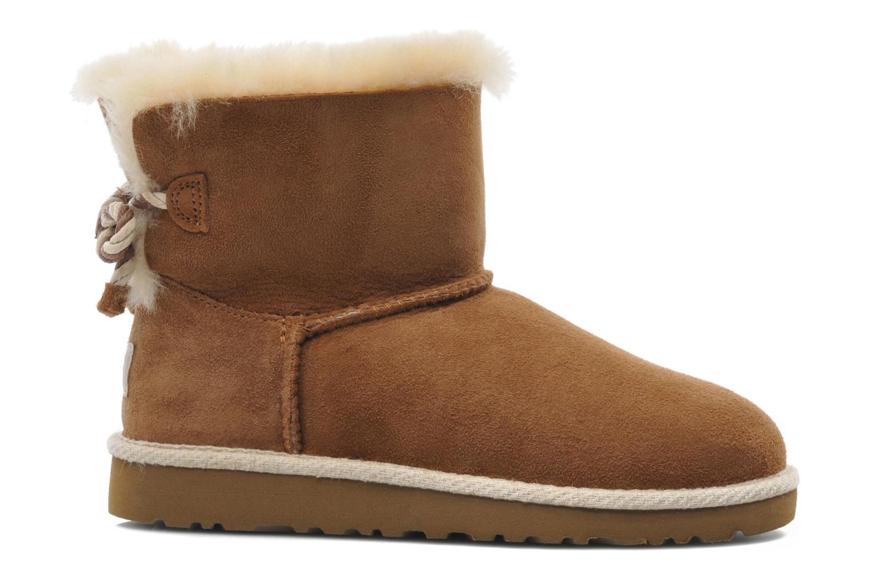 Stiefeletten & Boots UGG K SELENE braun ansicht von hinten