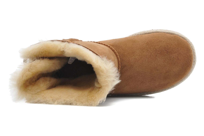 Stiefeletten & Boots UGG K SELENE braun ansicht von links