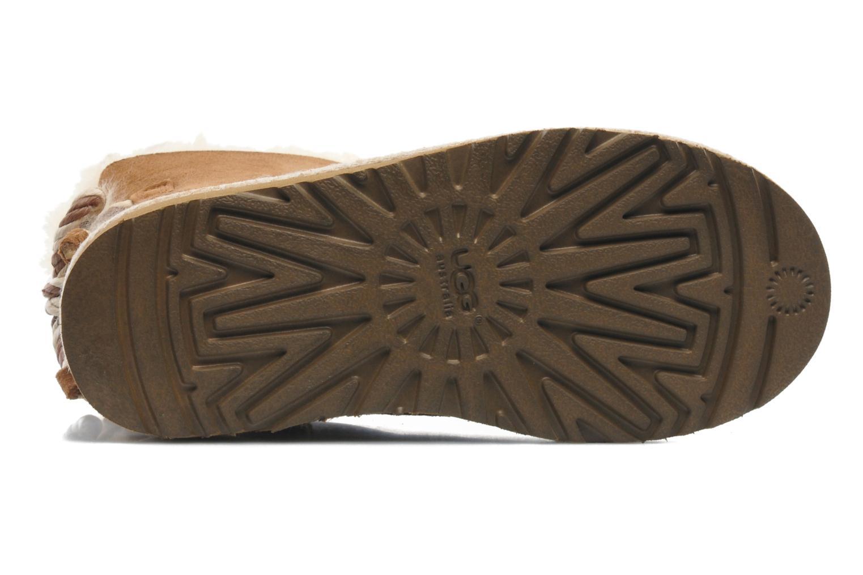 Stiefeletten & Boots UGG K SELENE braun ansicht von oben