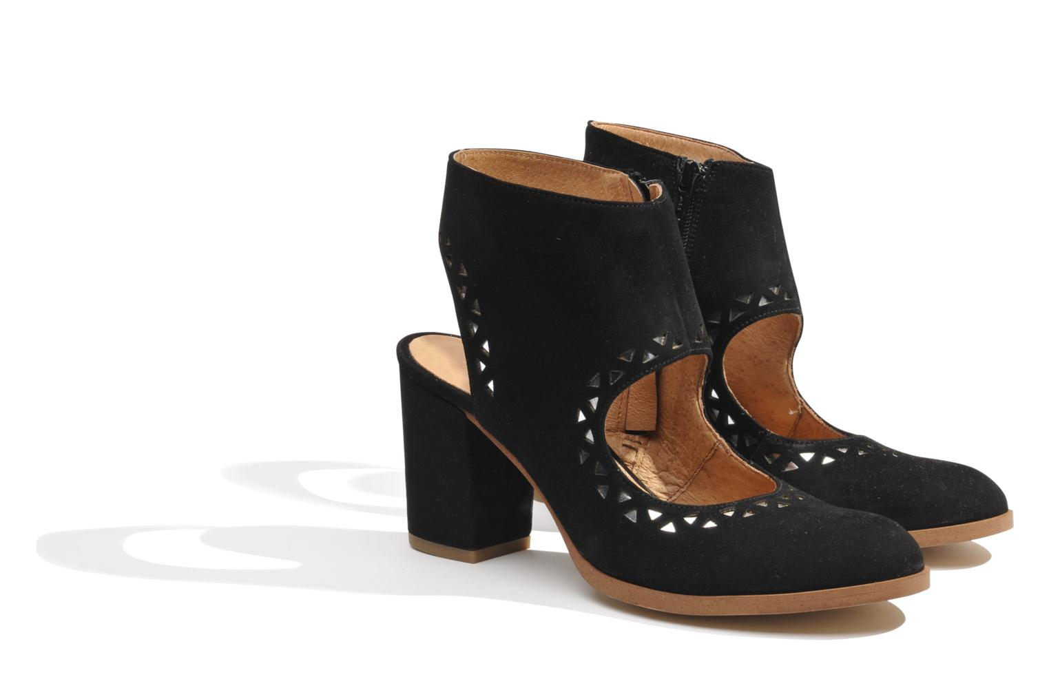 Ankle boots Made by SARENZA Bamako #4 Black back view