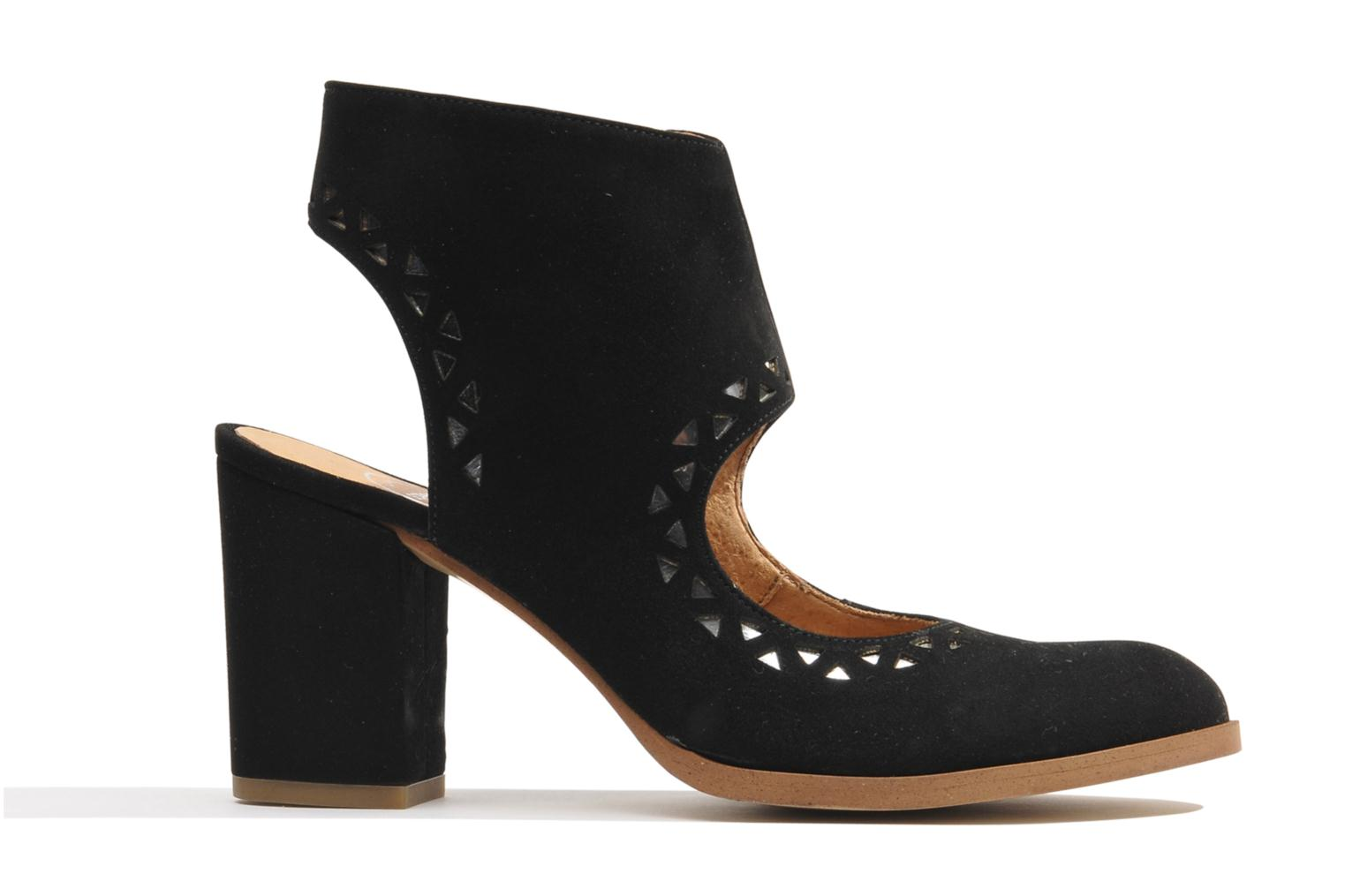 Ankle boots Made by SARENZA Bamako #4 Black detailed view/ Pair view