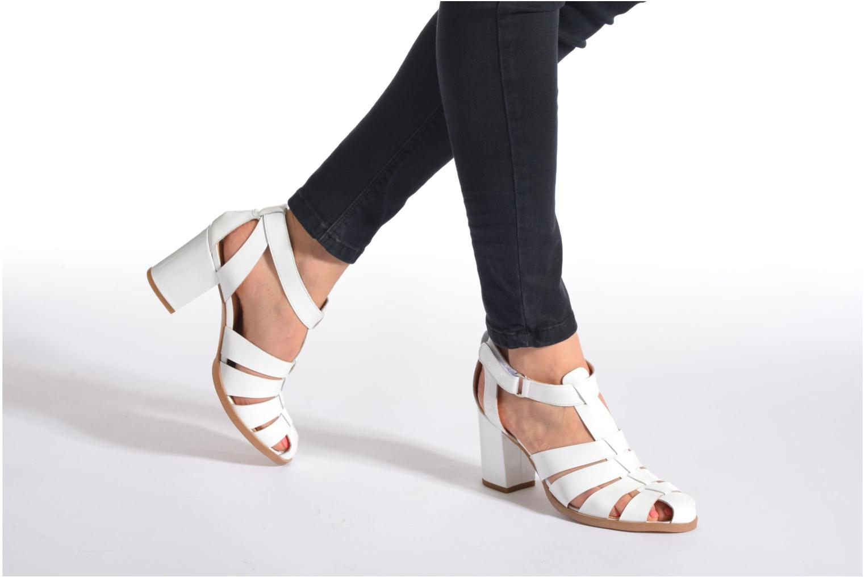Sandalen Made by SARENZA Menthe Hello #2 Wit onder