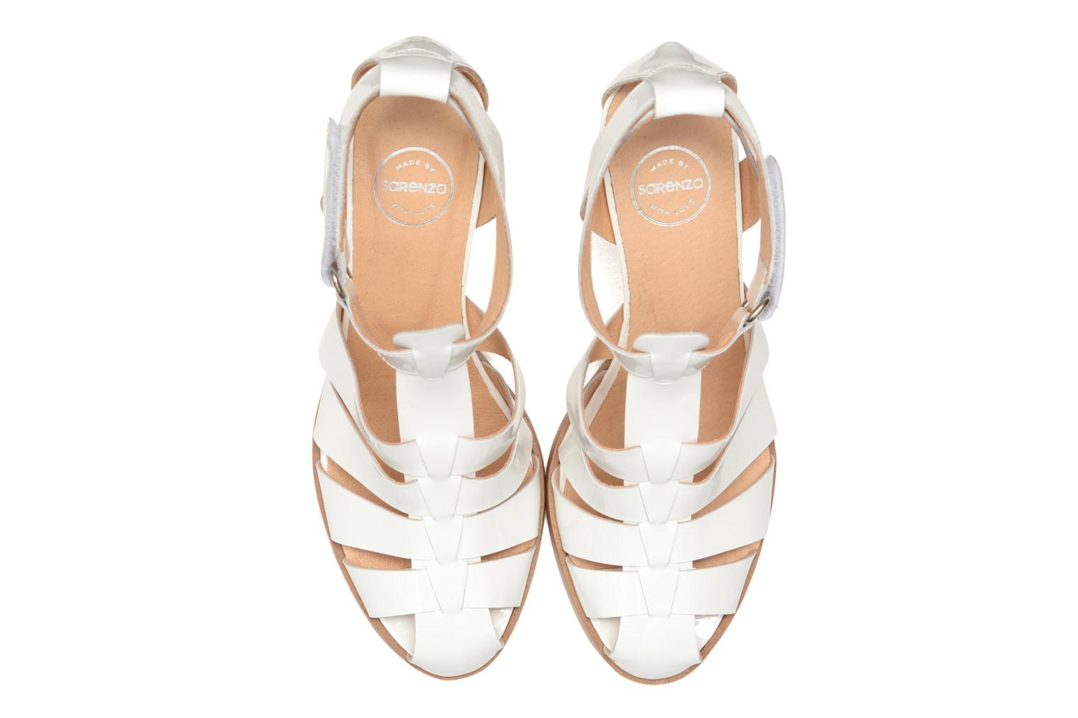 Sandals Made by SARENZA Menthe Hello #2 White model view