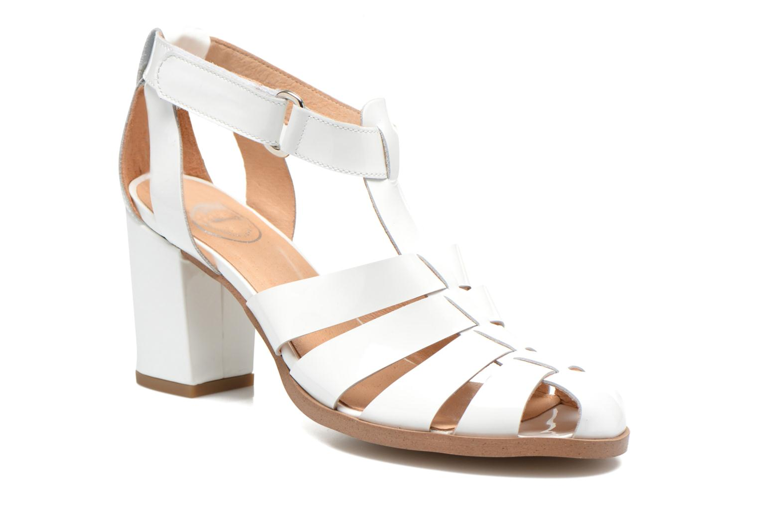 Sandals Made by SARENZA Menthe Hello #2 White view from the right