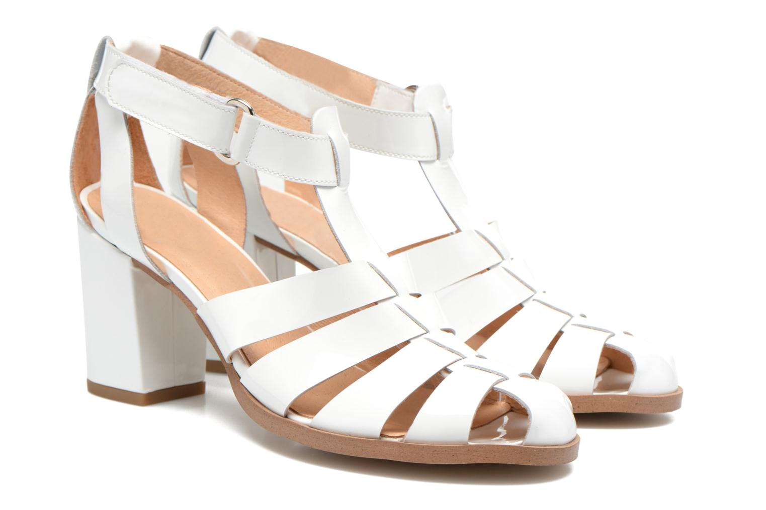Sandals Made by SARENZA Menthe Hello #2 White back view