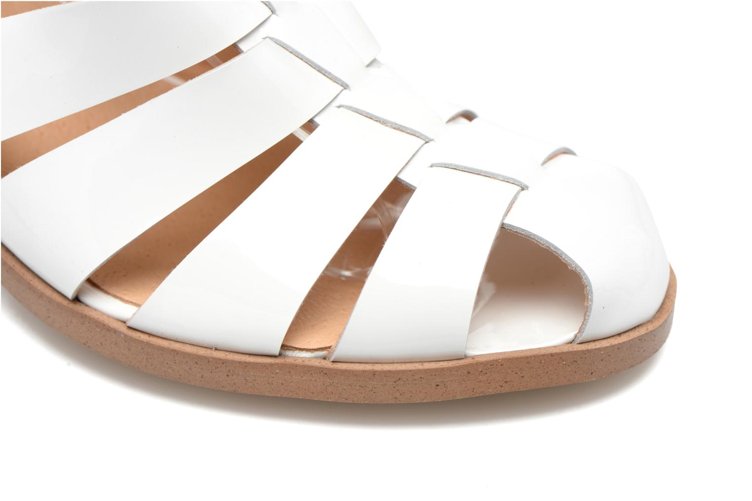Sandalen Made by SARENZA Menthe Hello #2 Wit links