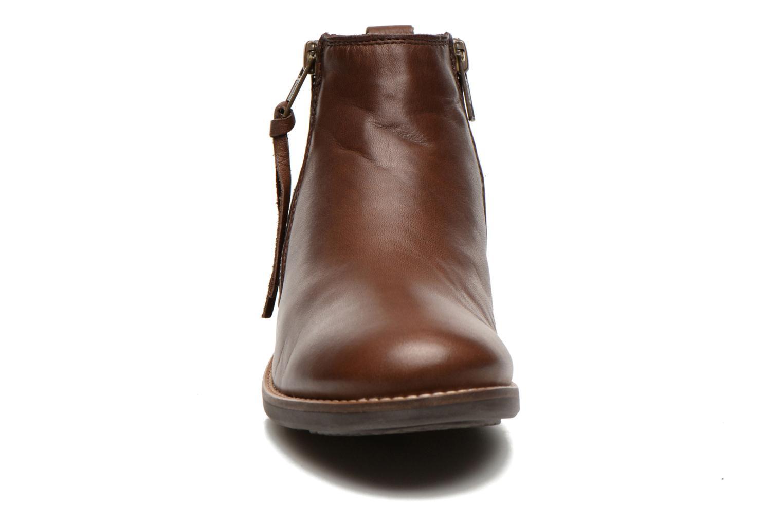 Bottines et boots TBS Girlye Marron vue portées chaussures