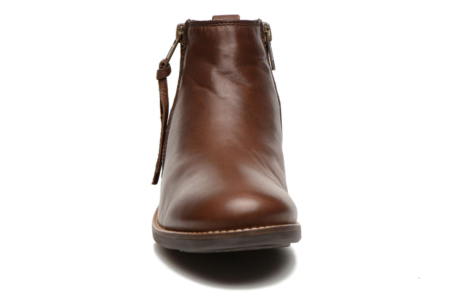 Ankle boots TBS Girlye Brown model view