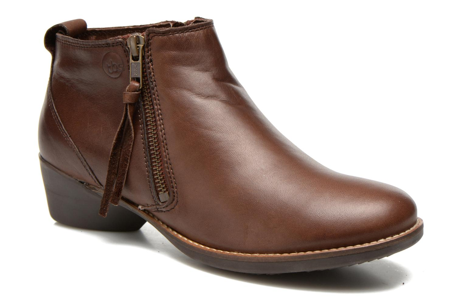 Ankle boots TBS Girlye Brown detailed view/ Pair view