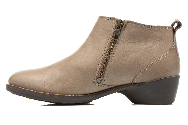 Bottines et boots TBS Girlye Beige vue face