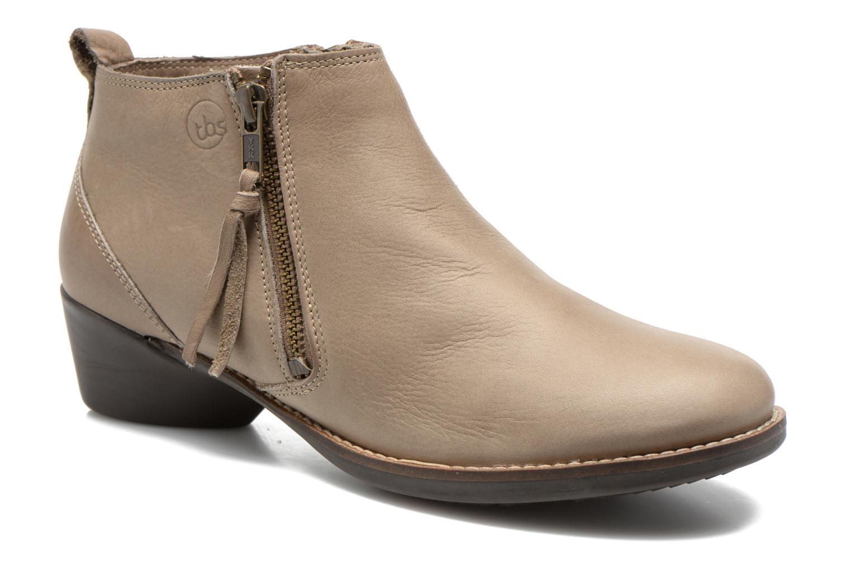 Bottines et boots TBS Girlye Beige vue détail/paire