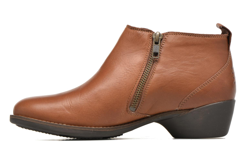 Bottines et boots TBS Girlye Marron vue face