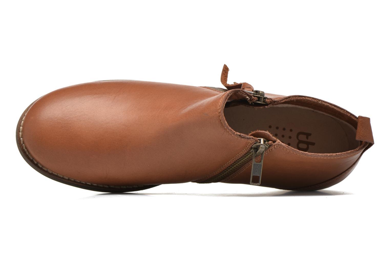 Bottines et boots TBS Girlye Marron vue gauche