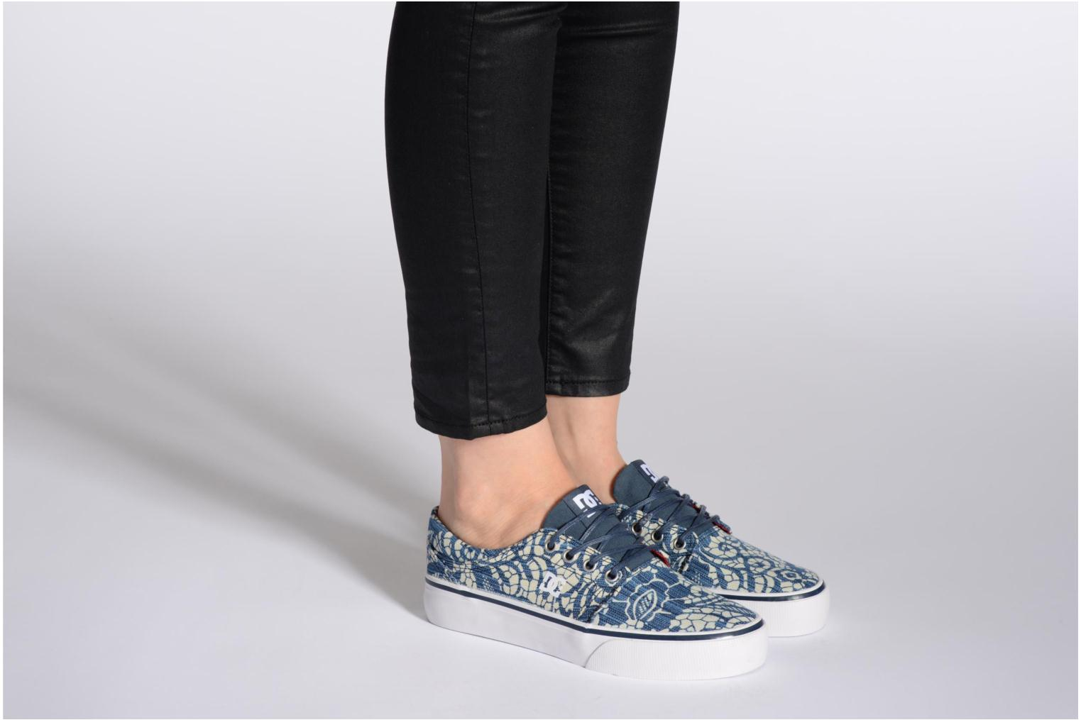 Sneakers DC Shoes Trase Tx Se W Blauw onder
