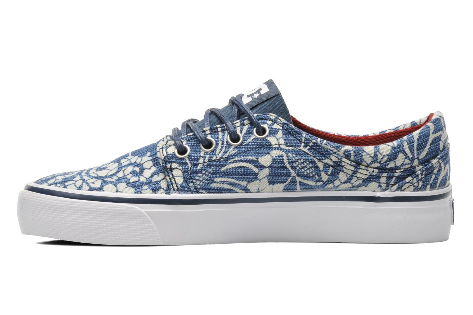 Sneakers DC Shoes Trase Tx Se W Blauw voorkant