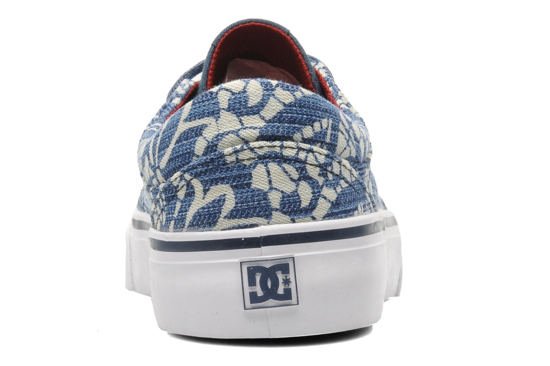 Sneakers DC Shoes Trase Tx Se W Blauw rechts