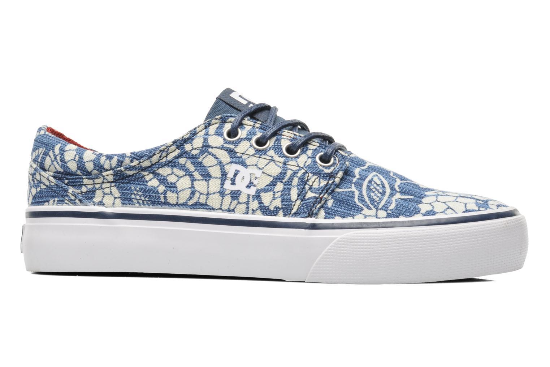 Sneakers DC Shoes Trase Tx Se W Blauw achterkant