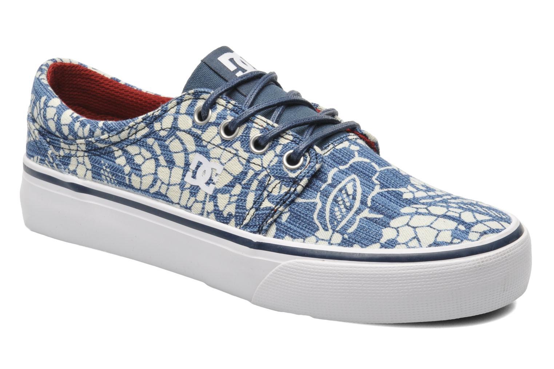 Sneakers DC Shoes Trase Tx Se W Blauw detail