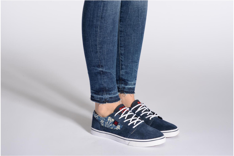 Baskets DC Shoes Tonik W Se Bleu vue bas / vue portée sac