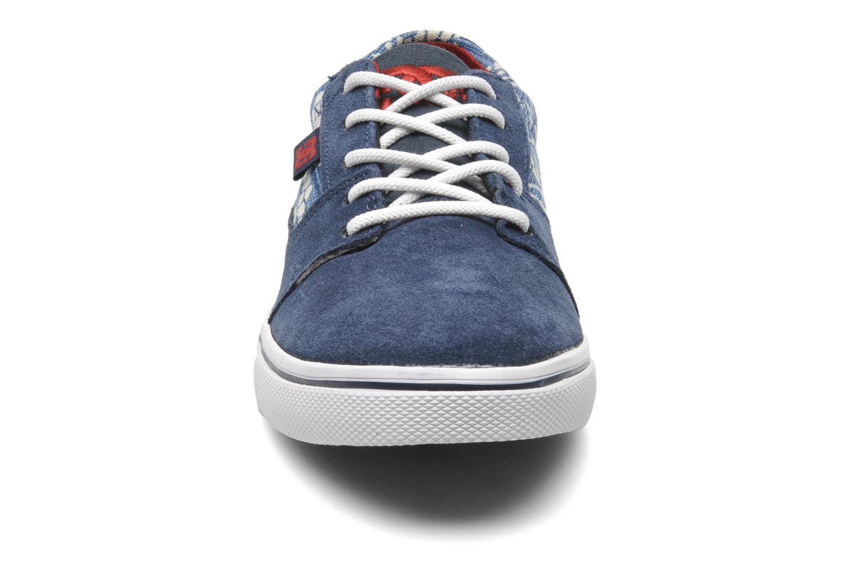 Baskets DC Shoes Tonik W Se Bleu vue portées chaussures