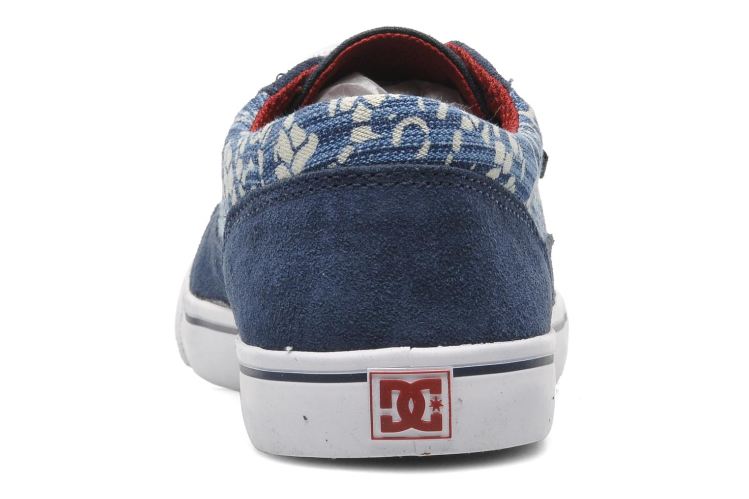 Baskets DC Shoes Tonik W Se Bleu vue droite